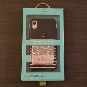 Kate Spade iPhone XR Case with Pocket